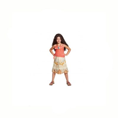 Do you love Disney Princesses? Here's your chance tDisney Princess Moana Child Halloween Costume.