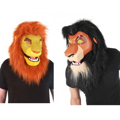 Disney Lion King Mouth Mover Mask Simba Scar