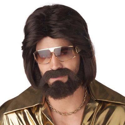 Sexy 70s Man Wig Beard Mustache