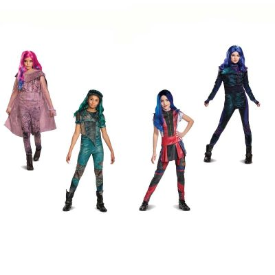 Descendants 3 Costumes Uma, Mal, Evie, Audrey
