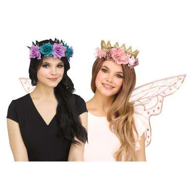 Floral Fantasy Fairy Crown