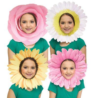 Foam Fun Flower Faces Daisy Sunflower Rose