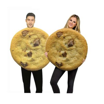 Two Chocolate Chip Cookie Costumes