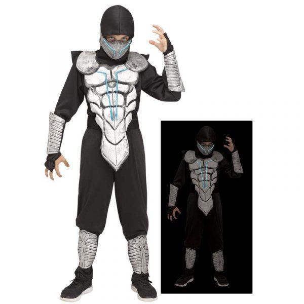 Lightning Ninja Child Halloween Costume