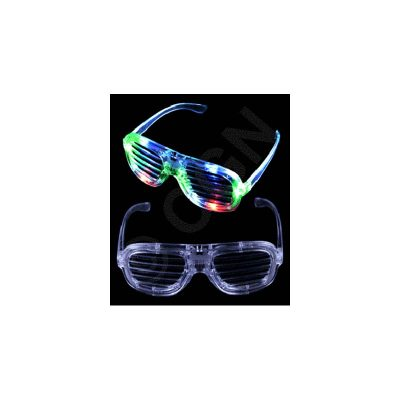 Light-up Slotted Shades Eyeglasses