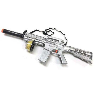 """28"""" Plastic Machine Gun with Motion Lights Sound"""