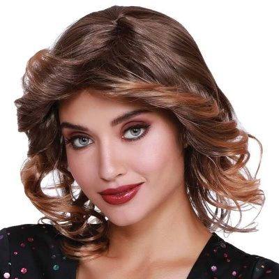 Feather Cut Disco Wig