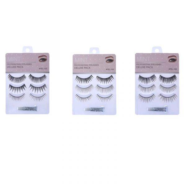False Eyelashes & Adhesive Set