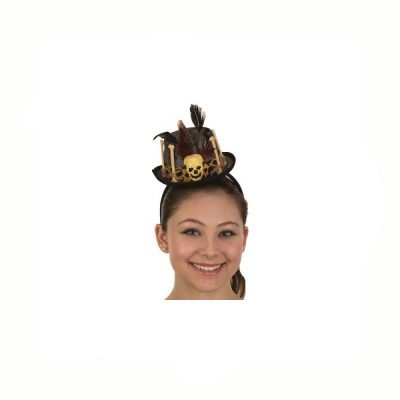 Voodoo Witch Doctor Hat Headband