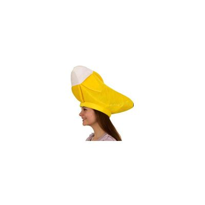Fabric Yellow Banana Hat