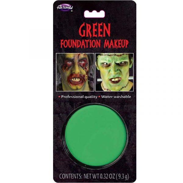 Green Foundation Makeup