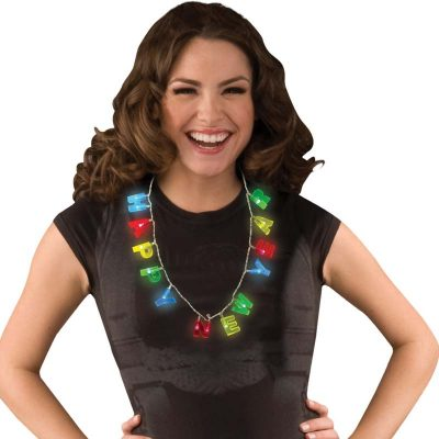 Light-up Multi-Function Happy New Year Necklace