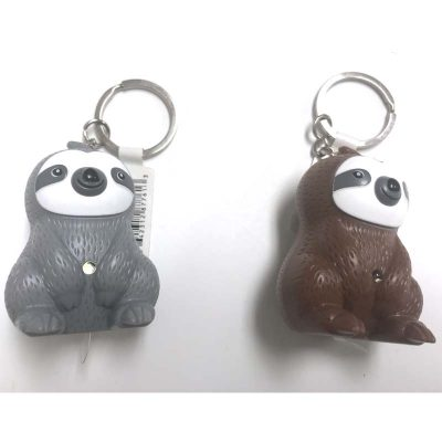 Sloth Keychain w Light n Sound