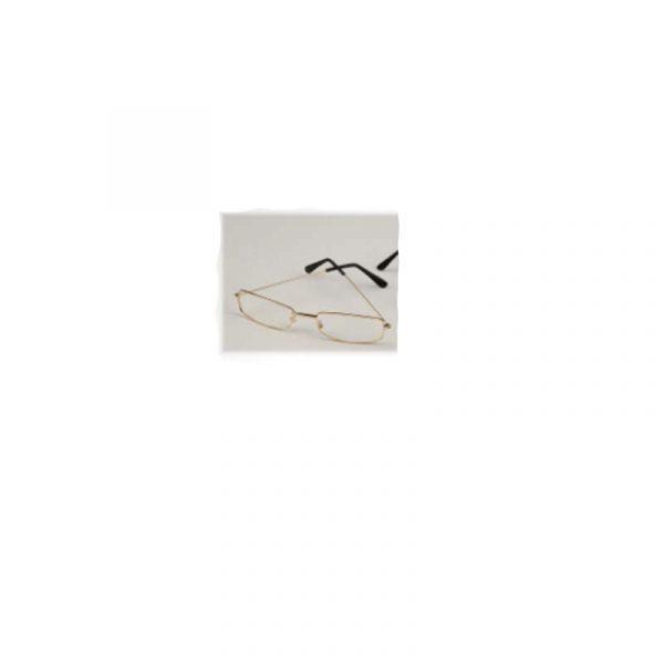 Deluxe Clear Lens Rectangular Eyeglasses