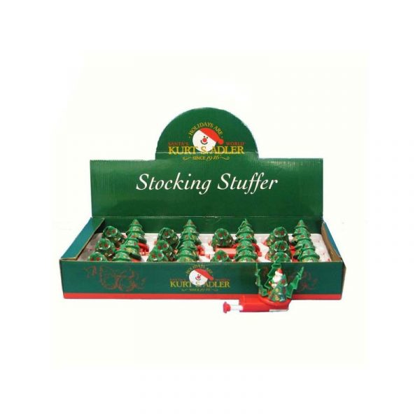 Stocking Stuffer Tree Spinner - Santa inside