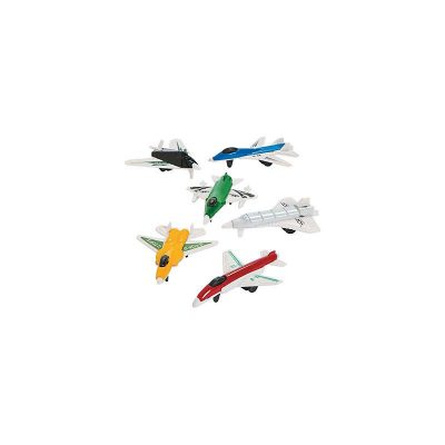 Small Toy Airplane Party Favors 6 per package