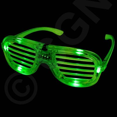 Light-up Shutter Shades Eyeglasses
