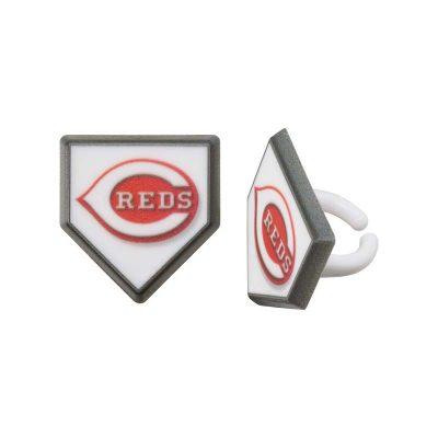 Plastic Cincinnati Reds Home Plate Ring