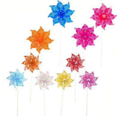 7 Inch Party Plastic Pinwheel