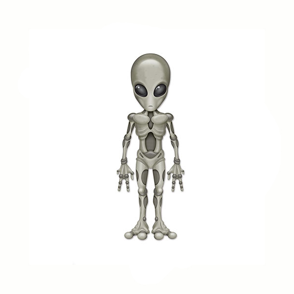 40 Inch Jointed Alien
