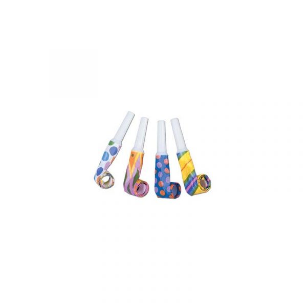 Assorted Party Blowouts - Horns