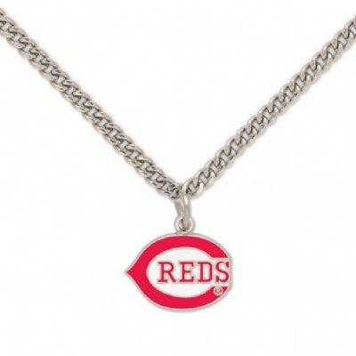 Cincinnati Reds Necklace Wishbone C Logo