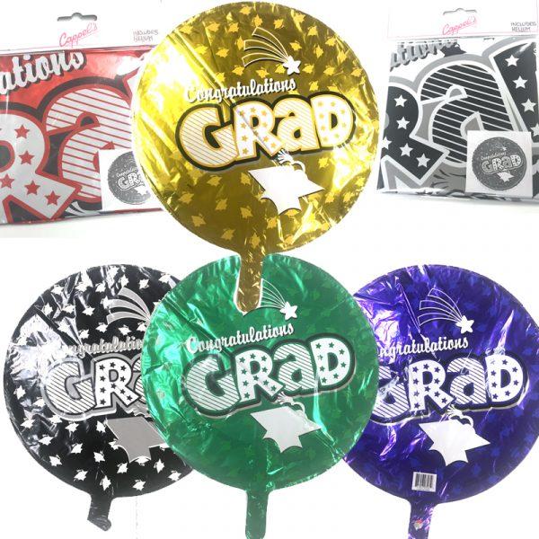 "18"" Mylar Congratulations Grad Balloon"
