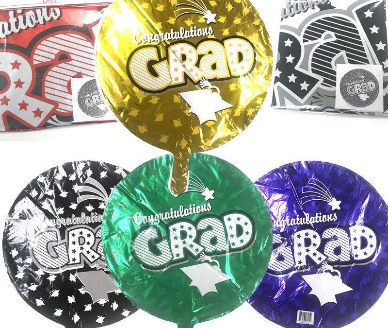 Graduation Grad Graduate Mylar Balloon 18 Inch