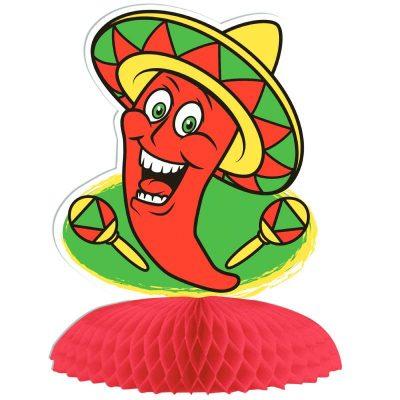 Tissue Chili Pepper Centerpiece