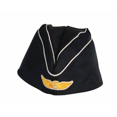 Fabric Flight Attendant Hat