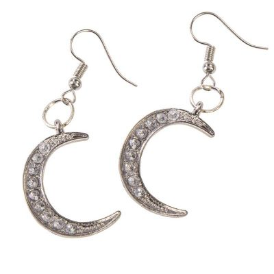 Costume Celestial Moon Earrings