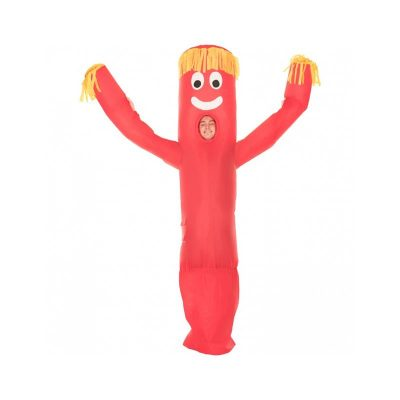 Giant Red Wavy Arm Guy Costume