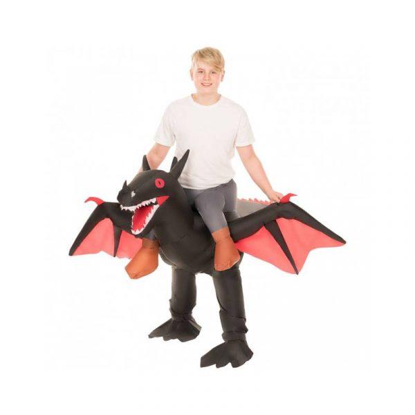 Inflatable Black Dragon