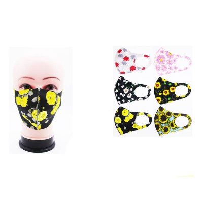 Pretty Flowers Face Masks