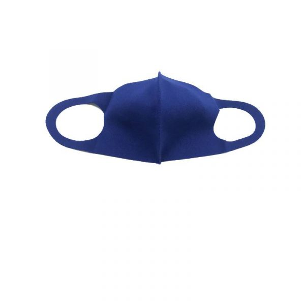 Navy Solid-Color Face Mask