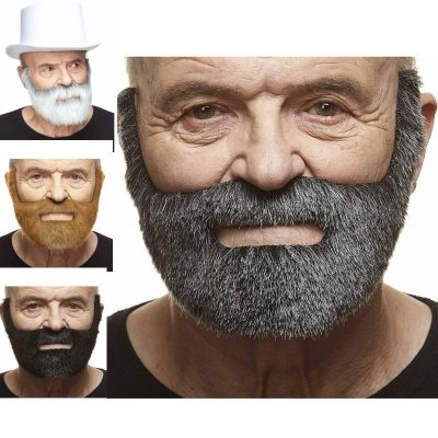 Costume Deluxe One-Piece Full Beard and Mustache