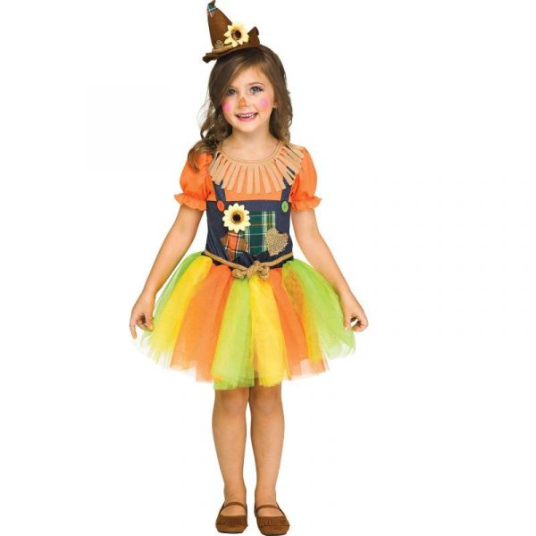 Sweet Scarecrow Toddler Costume