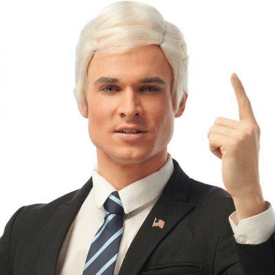 Joe Candidate Wig - white
