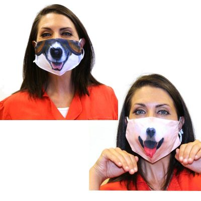 Covid face cover puppy dog masks