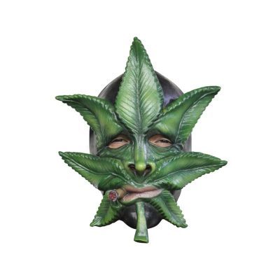 Weed Full face Marijuana Leaves Mask