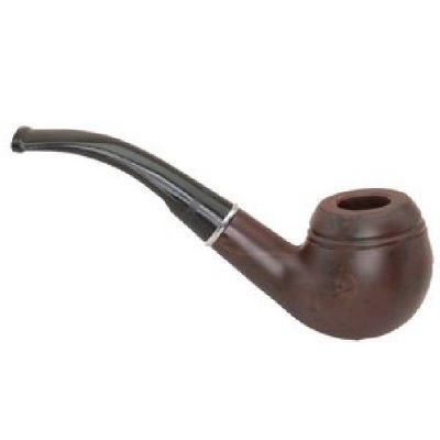 6 Inch Downswept Smoking Pipe