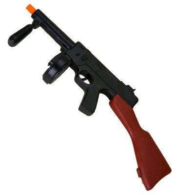 20 Inch Plastic Gangster Machine Gun