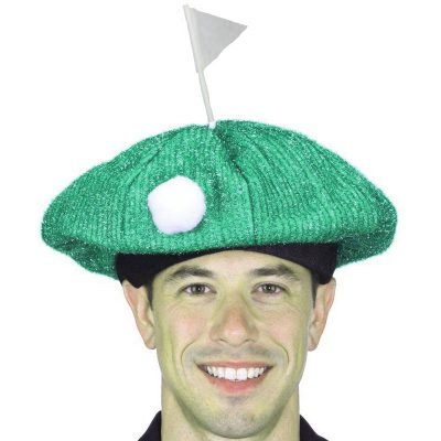 Sparkle Fabric Golf Course Hat