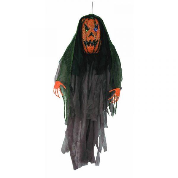 Light-up-hanging-scary Pumpkin Prop