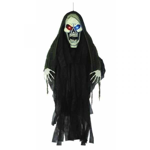 Light-Up Giant Head Hanging Scary Grim Reaper