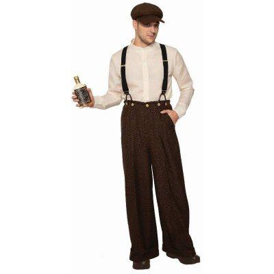 Bootlegger Roaring 20s Mens Costume