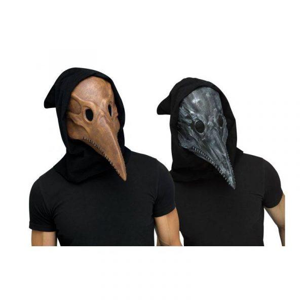 Plague Doctor Mask Brown or Black