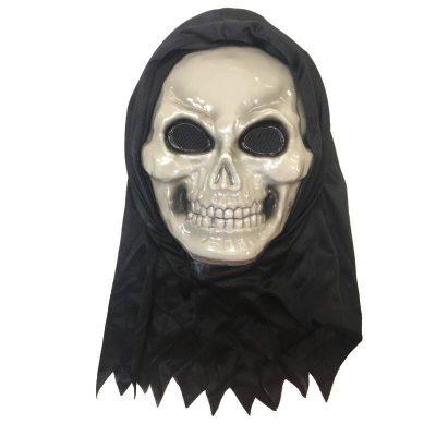 Hooded 3D Skull Mask