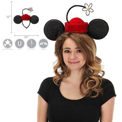 Disney Vintage Minnie Mouse Flower Hat