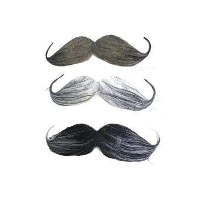 Costume-3-Piece Assorted Moustache Set